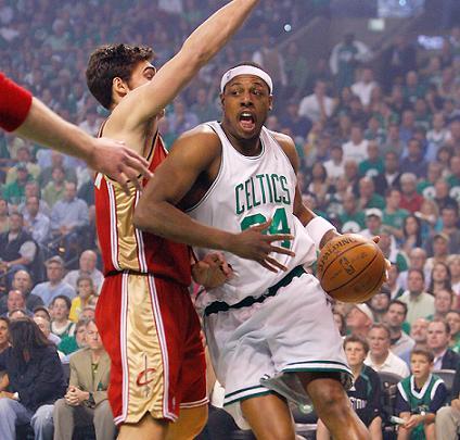 Paul Pierce fue la gran estrella en el pase de Boston Celtics a la final despues de derrotar a Cleveland Cavaliers