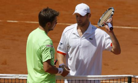 Las semis de Roma vivieron las retiradas de Roddick y Stepanek