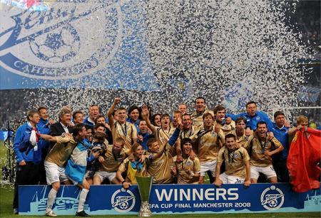 El Zenit de San Petesburgo se proclama campeón de la Copa de la Uefa