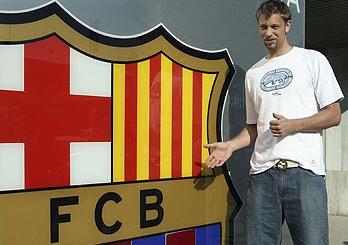 David Andersen, nuevo jugador del F.C. Barcelona