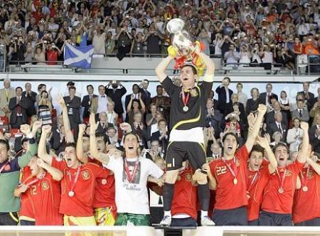 España, Campeona de la Eurocopa 2008