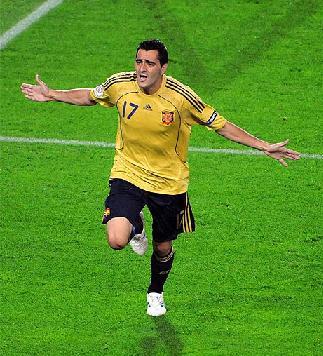 Guiza autor de un gol en la semifinal ante Rusia