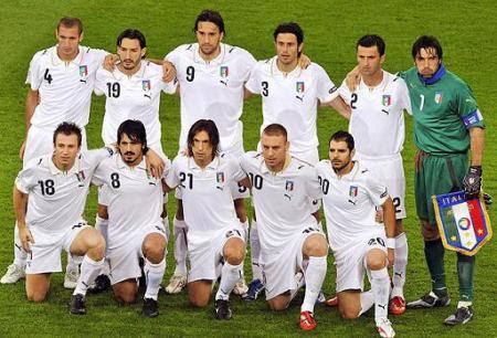Seleccion Italia, rival de España en los cuartos de la Eurocopa