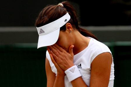 Ana Ivanovic, eliminada en tercera ronda en Wimbledon