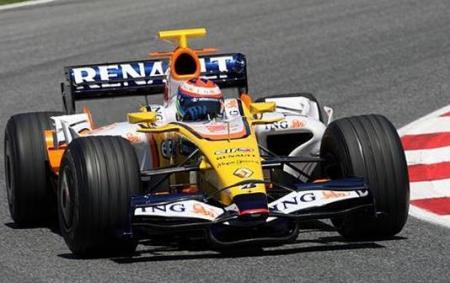 Renault en los tests de Barcelona