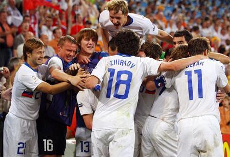 Rusia a semifinales a costa de Holanda