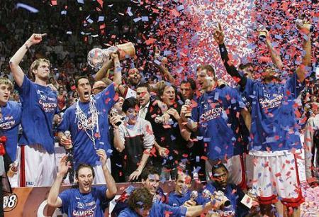 Tau Vitoria, Campeon de la Liga ACB de Baloncesto