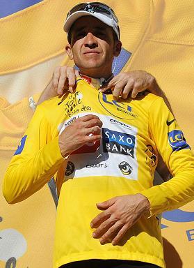 Carlos Sastre defendera el liderato en la última crono del Tour