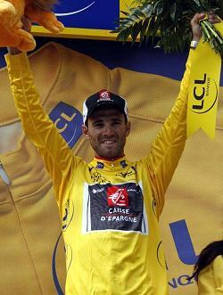 Alejandro Valverde se coloca lider del Tour de Francia