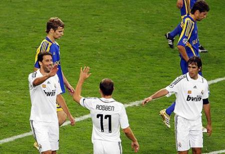 Madrid derroto al Bate Borisov