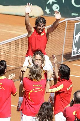 Rafa Nadal di a España el punto definitivo frente a EEUU en la Copa Davis