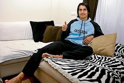 Ruben De la Red descansa en casa tras sus susto en Irun