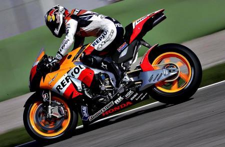Pedrosa en el test de Jerez