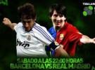 Esta noche a las 22:00, gran clásico entre F.C. Barcelona y Real Madrid en LaSexta