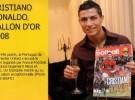 Cristiano Ronaldo es el ganador del Balón de Oro