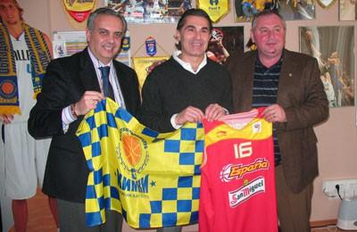 Sergio Scariolo entrenara a la Seleccion Española de baloncesto