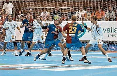 Barcelona y Ciudad Real pasan a la final de la Copa del Rey de balonmano.