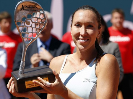 Jankovic se llevó la primera edición del I Torneo Andalucía Tennis Experience