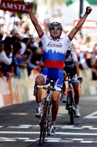 Ivanov es el primer ruso en ganar la Amstel Gold Race