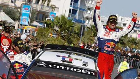 Loeb ganó el Rally de Argentina