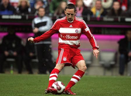 Ribery fue expulsado y el Bayern perdió su partido