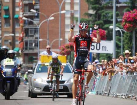 Alejandro Valverde venció en Amorebieta