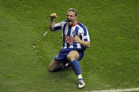 Voronin, goleador del Hertha