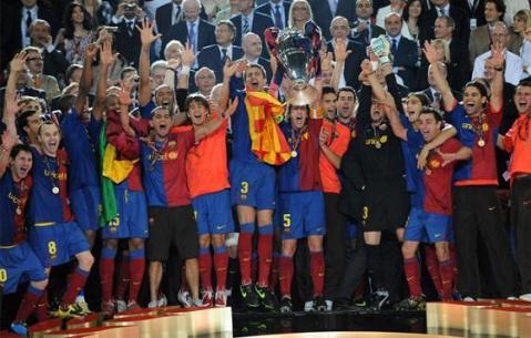 Barcelona Campeon de Europa 2009