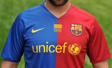 Camiseta del Barca en la Final de Copa