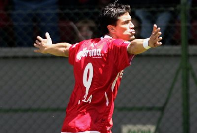 Héctor Mancilla, goleador del líder mexicano Pachuca