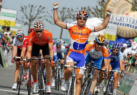 Tour de Romandia: Freire gana la última etapa y Kreuziger la general