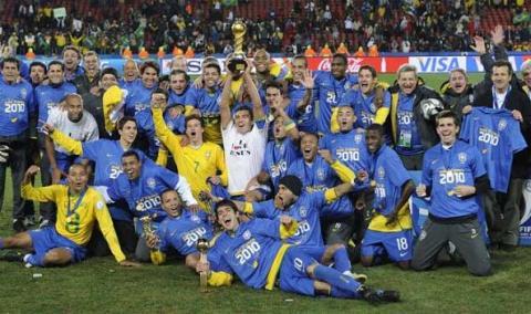 Brasil Campeon Copa Confederaciones 2010