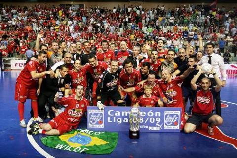 El Pozo Murcia Campeon de Liga 2009, intentara revalidad el titulo