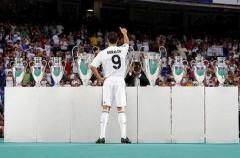 Cristiano Ronaldo ya luce con la camiseta del Real Madrid