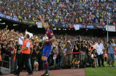 Ya hay imágenes de Zlatan Ibrahimovic con la camiseta del F.C. Barcelona