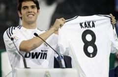 Primeras imagenes de Kaká con la camiseta del Real Madrid