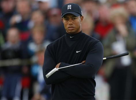 Open Británico: Jiménez pierde el liderato y Tiger Woods no pasa el corte