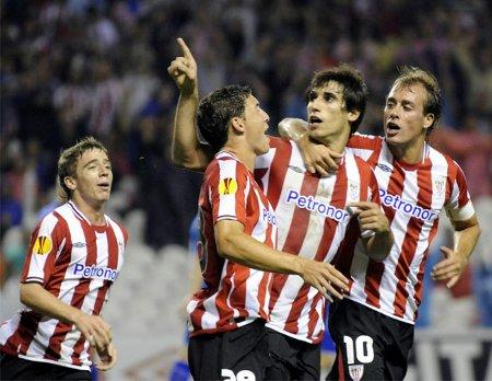 Europa League: triple victoria en la ida de la eliminatoria previa