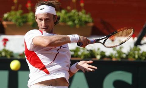 Ferrero en la Copa Davis