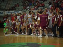 Los medallistas de Los Ángeles'84 jugaron un partido homenaje en Murcia