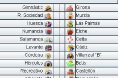 Liga Española 2009/10 2ª División: previa, horarios y retransmisiones de la Jornada 2