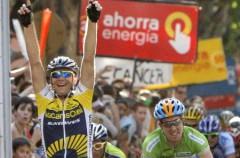 Vuelta a España 09 Etapa 6: el triunfo en Xativa fue para Bozic