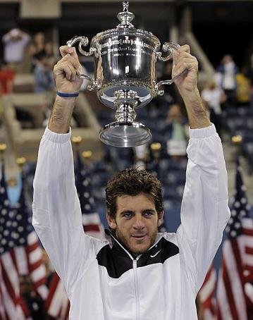 Del Potro da la sopresa y destrona a Federer como campeón del US Open