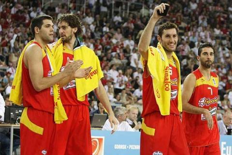 Eurobasket 2009: España ganó a Polonia