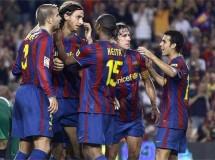 El Barça e Ibrahimovic se estrenan