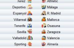 Liga Española 2009/2010 1ª División: previa, horarios y retransmisiones de la Jornada 2
