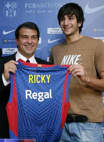 Ricky Rubio fue presentado por el Barcelona, ¿una operación que contenta a todos?