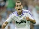 Sneijder raja del Real Madrid