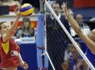 Campeonato de Europa de Voleibol Femenino: España pierde su primer partido ante Rusia