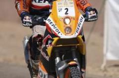 Jordi Viladoms y Marc Coma dominan el Rally de Marruecos tras dos etapas